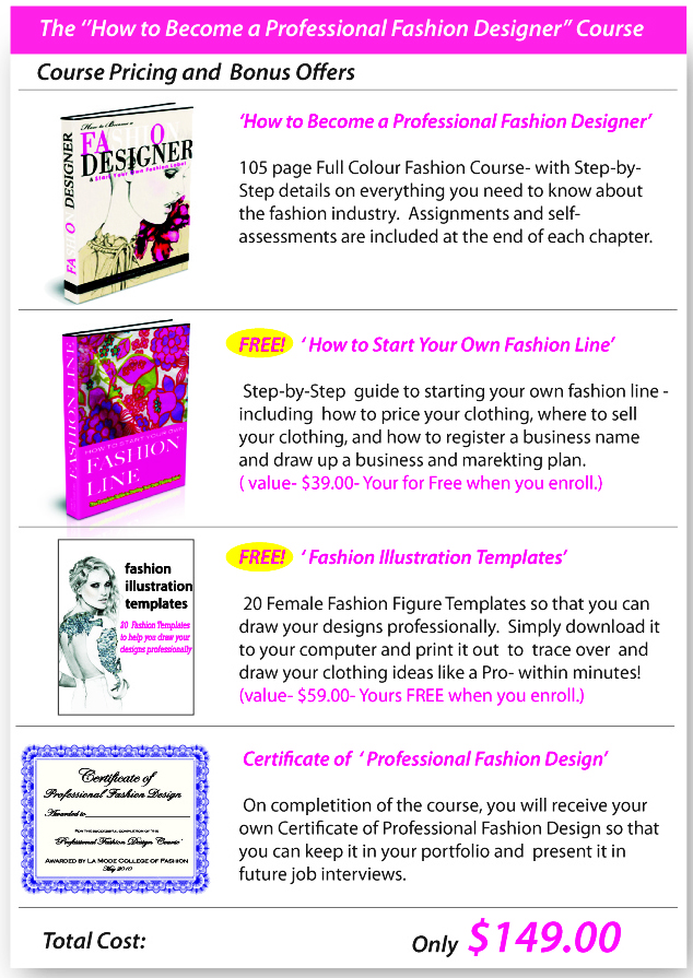 Fashion Design- Course Book