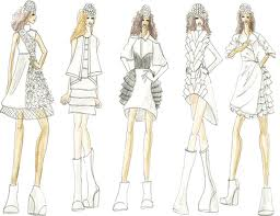 the gallery for gt indian fashion design sketches