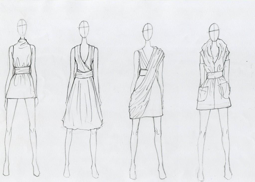 easy fashion design sketches - photo #1
