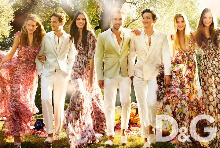 d g floral maxi dress 70s