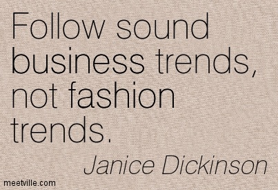 Fashion business advice