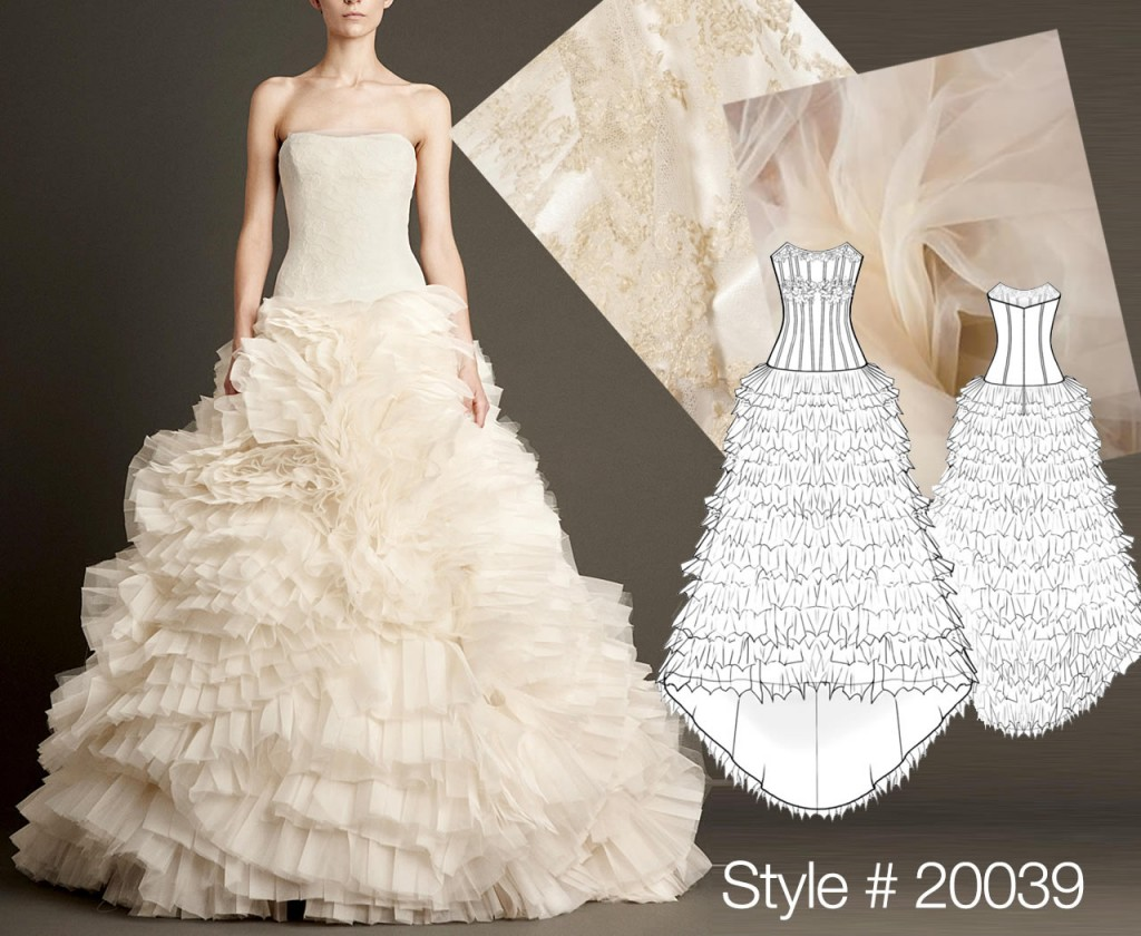 Vera Wang sewing patterns for dresses