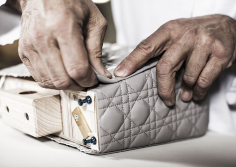 Designing a handbag- step by step- Dior