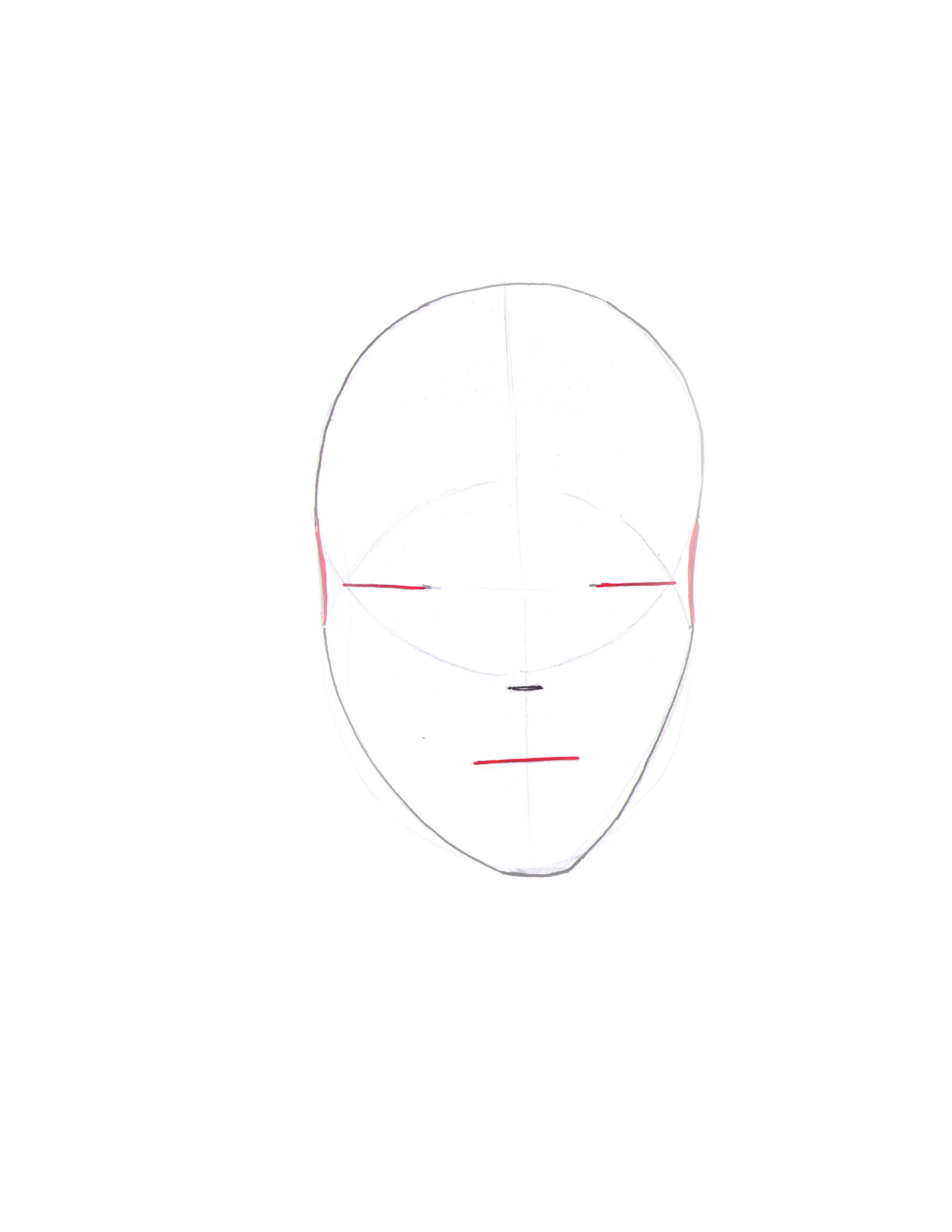 how to draw a fashion face step 5