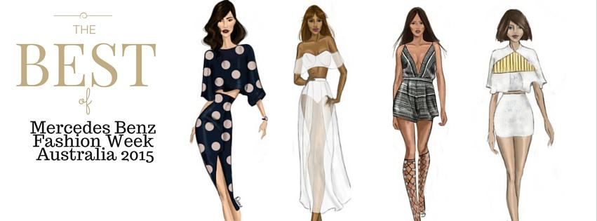 Mercedes Benz Fashion Week  Illustration
