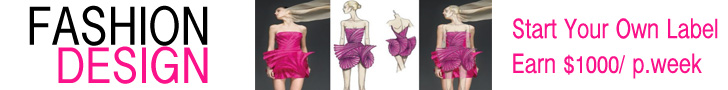 Fashion Design Course Earn $1000 per week